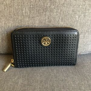Tory Burch Bags - Tory Burch Black Wallet